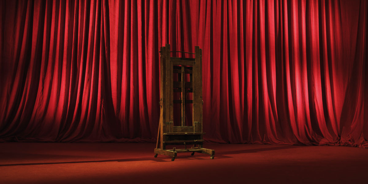John Beattie, HD film still, An Artist, The Studio, and all the rest… duration 15mins, 2012.